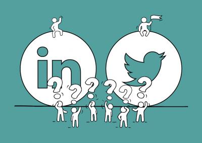 Utiliser Linkedin & Twitter